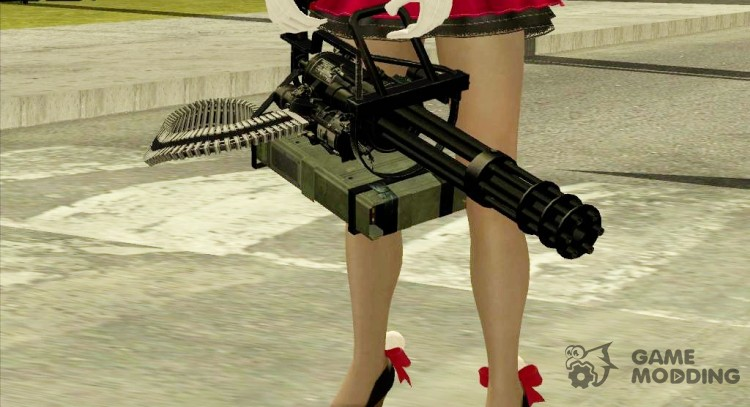 Minigun China Wind для GTA San Andreas