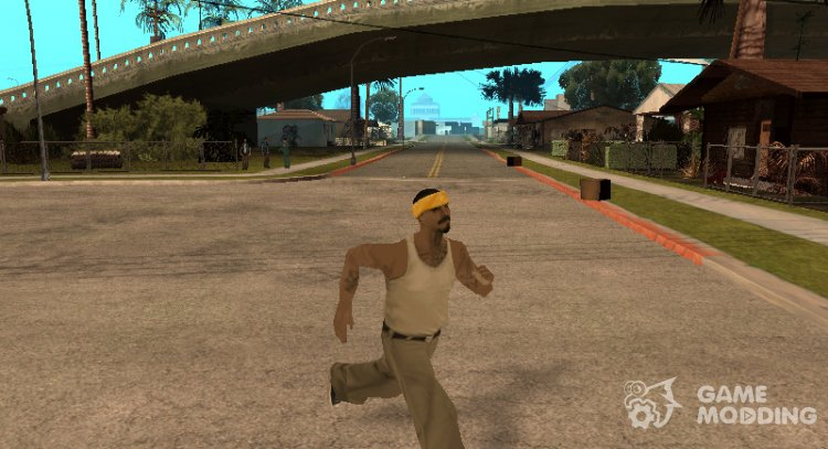 New gait the main character in DYOM for GTA San Andreas