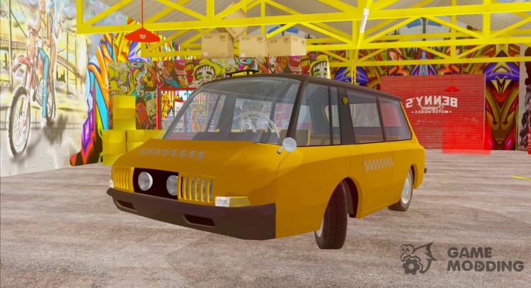VNIITE PT Taxi for GTA San Andreas
