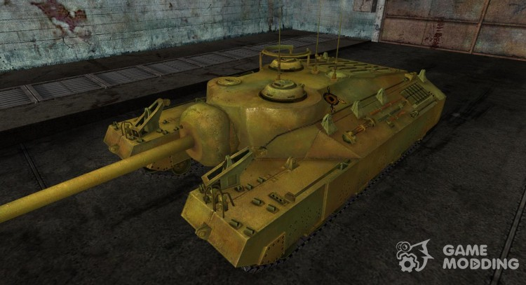 Skin for T95 No. 9 for World Of Tanks