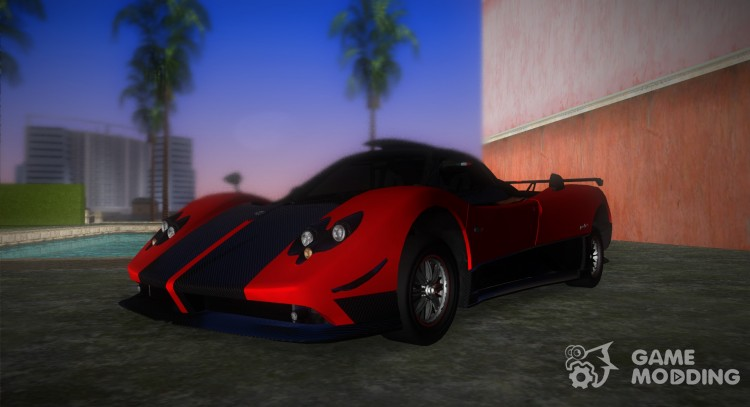 Pagani Zonda Cinque for GTA Vice City