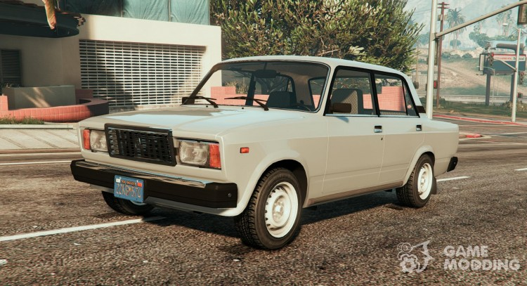Vaz Lada 2107 Riva v1.2 for GTA 5