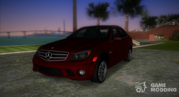 Mercedes-Benz C63 (AMG) 2010 for GTA Vice City