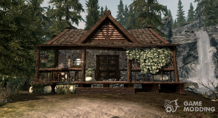 The cottage pine forest for TES V: Skyrim