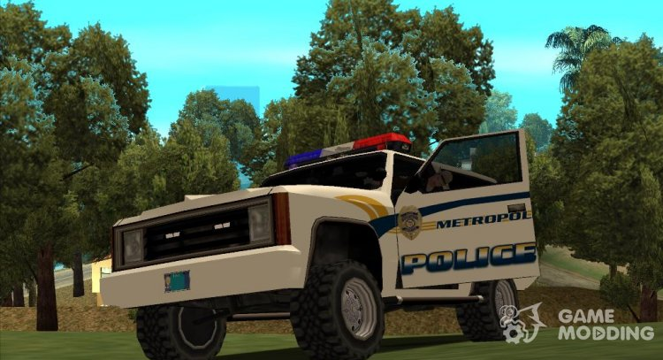 GHWProject Realistic Truck Pack Final and Metropolitan Police and Fire Deportament Pack for GTA San Andreas
