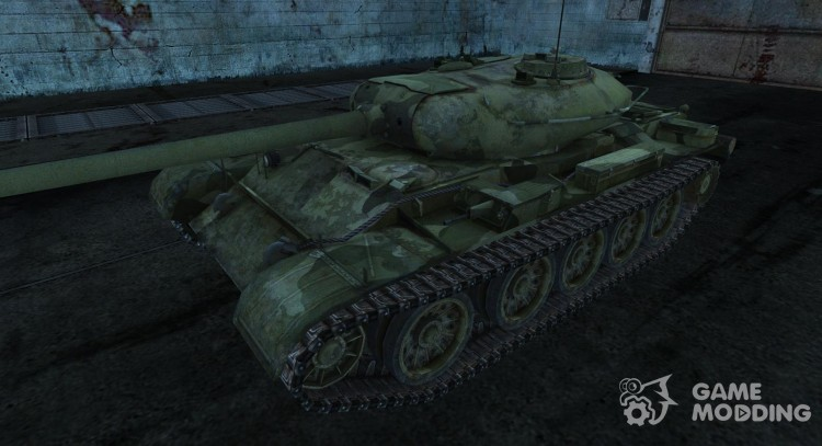 Т-54 DrQuanter для World Of Tanks