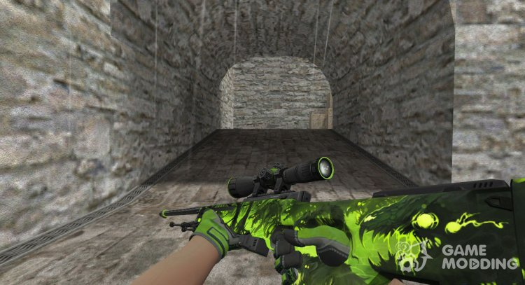 AWP Containment Breach for Counter Strike 1.6