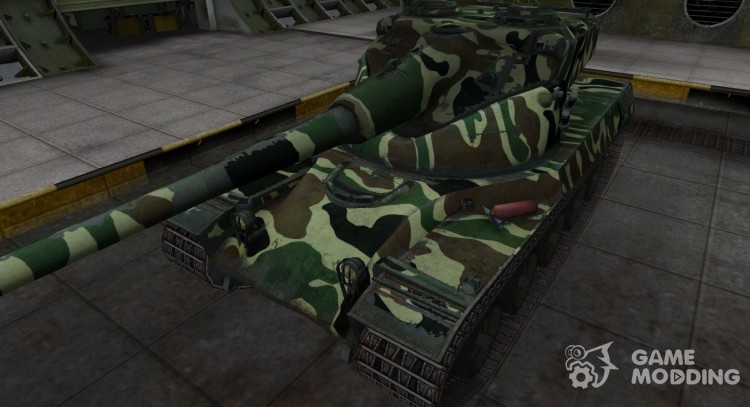 Skin with Camo AMX 50B for World Of Tanks