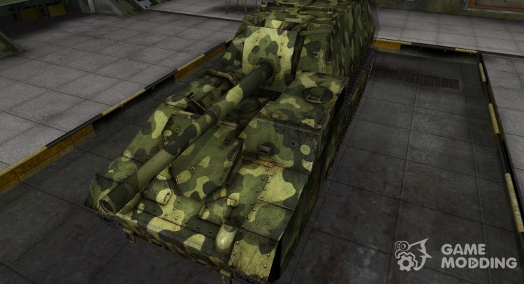 Skin for Su-14 with camouflage for World Of Tanks