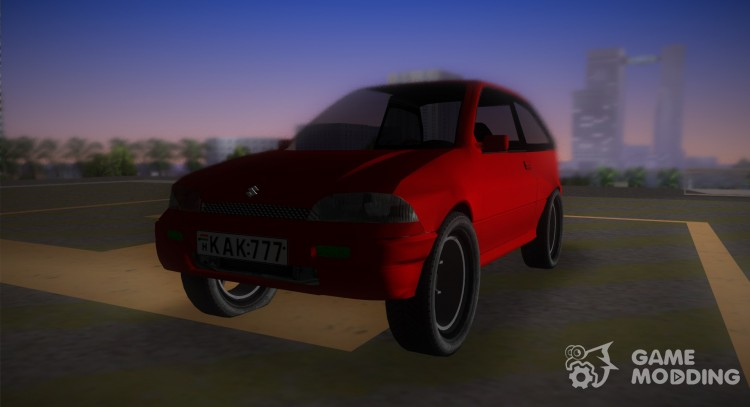Suzuki Swift for GTA Vice City