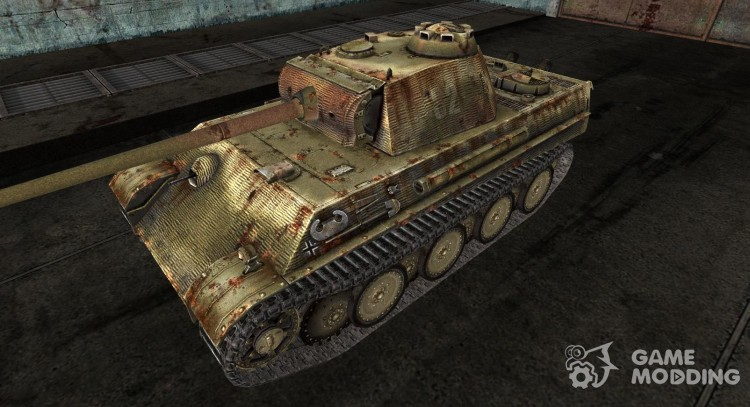 Panzer V Panther DanGreen for World Of Tanks