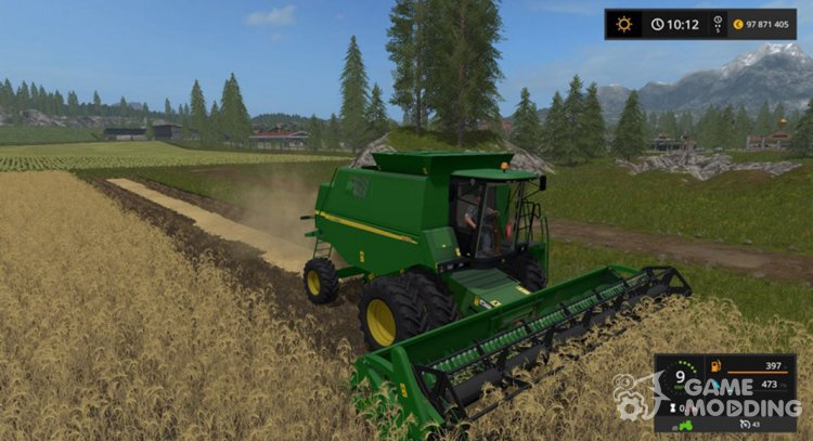 John Deere 1550 for Farming Simulator 2017