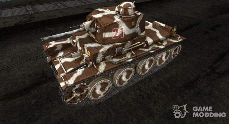 Skin for Pz38t for World Of Tanks