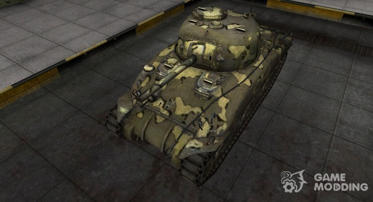 Simple skin M4 Sherman for World Of Tanks