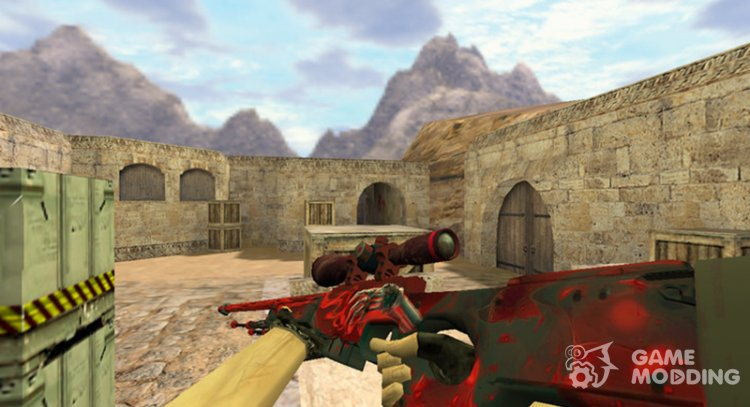 AWP-Touch the dead for Counter Strike 1.6