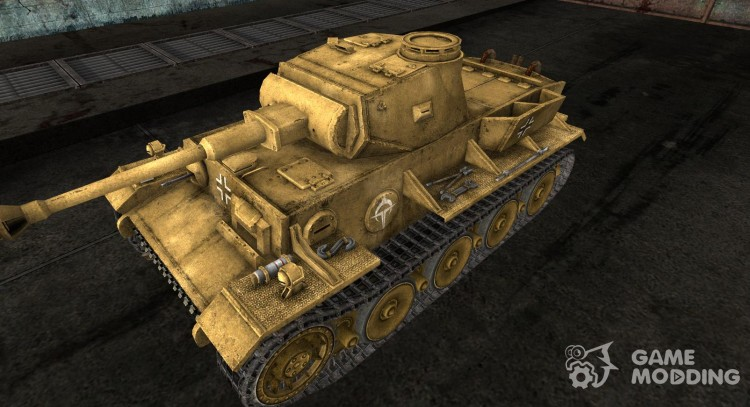 Skin for VK3601 (H) for World Of Tanks
