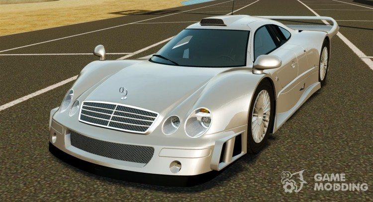 Mercedes Benz Clk Gtr Amg For Gta 4