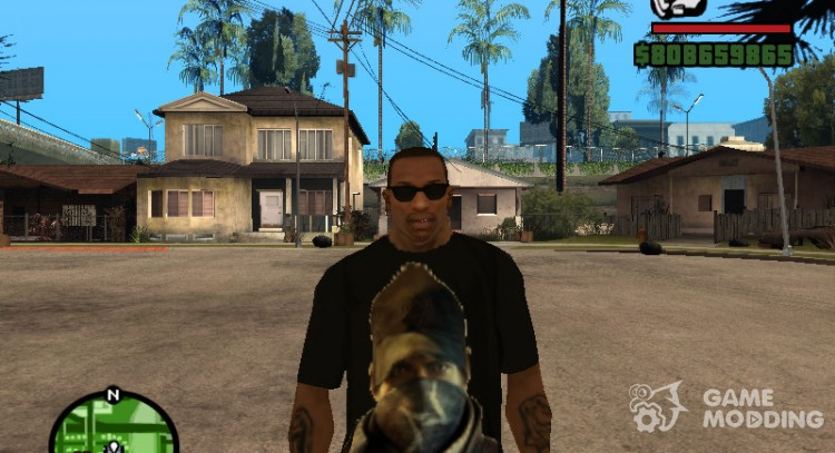 T-shirt Wath Dogs for GTA San Andreas