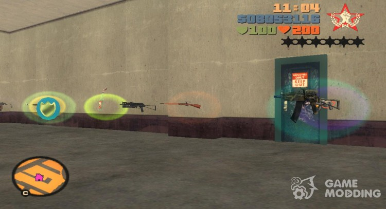 Pak domestic weapons v3 for GTA 3