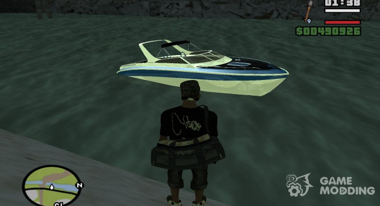 Pak water transport for GTA San Andreas