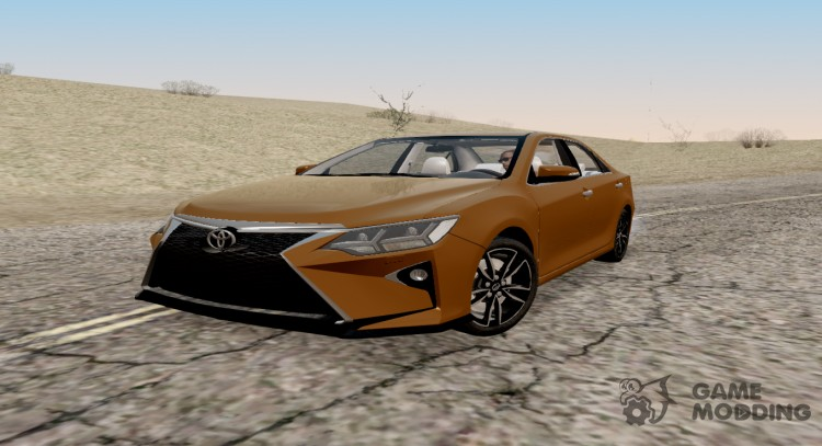 Toyota Camry 2017 V55 Sport Design for GTA San Andreas