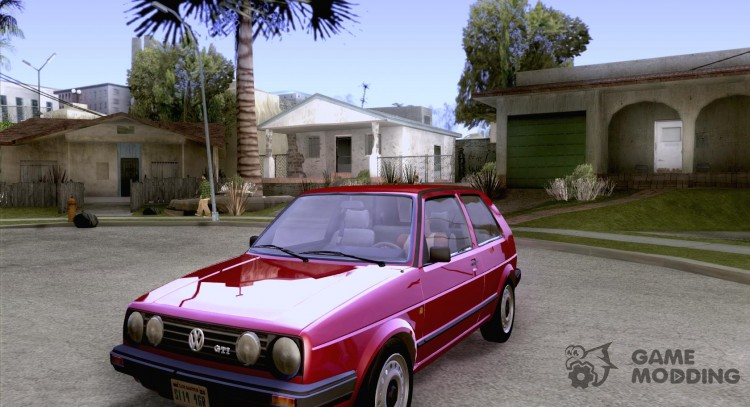 Volkswagen Golf Mk II for GTA San Andreas