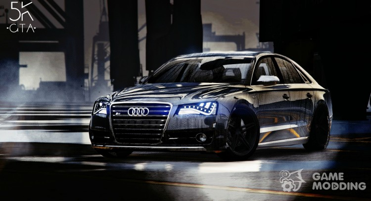 2013 Audi S8 4.0 TFSI Quattro v 1.7 for GTA 5