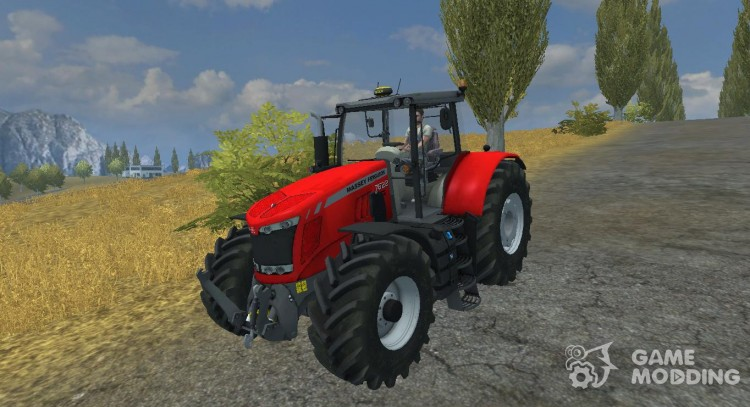 Massey Ferguson 7622 для Farming Simulator 2013