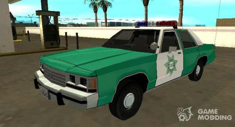 Ford LTD Crown Victoria 1991 San Diego County Sheriff for GTA San Andreas