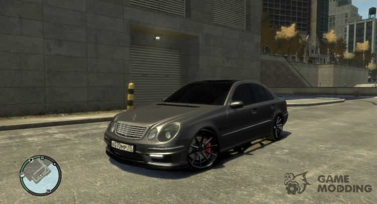 Mercedes-Benz E55 W211 for GTA 4