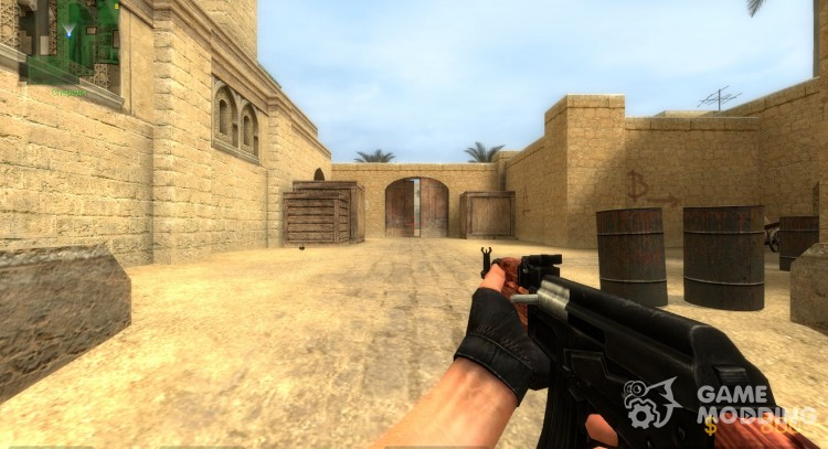 S07's Cocobolo Wood AK47 for Counter-Strike Source