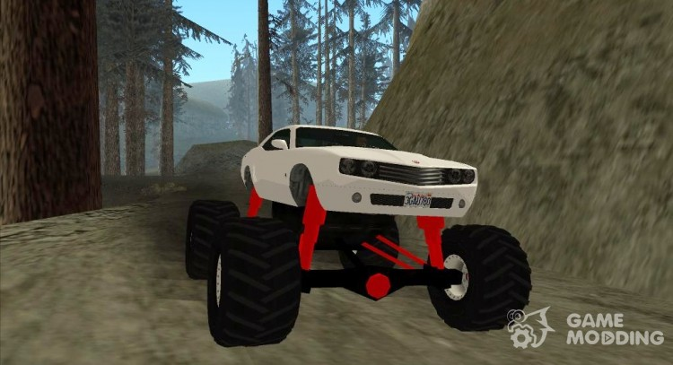 GTA 5 Bravado Gauntlet Monster Truck для GTA San Andreas