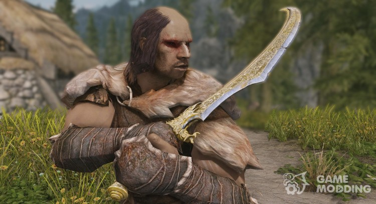 Warrior Within Swords for TES V: Skyrim