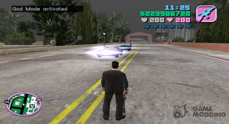 God Mode v2 for GTA Vice City