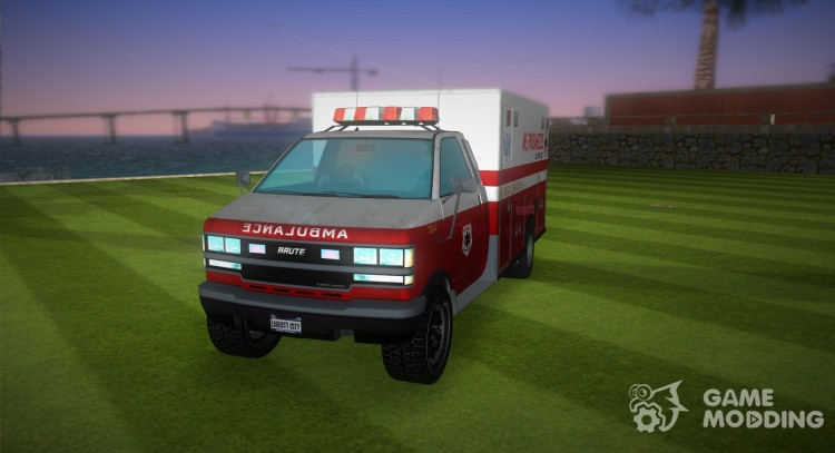 Ambulance from GTA IV for GTA Vice City