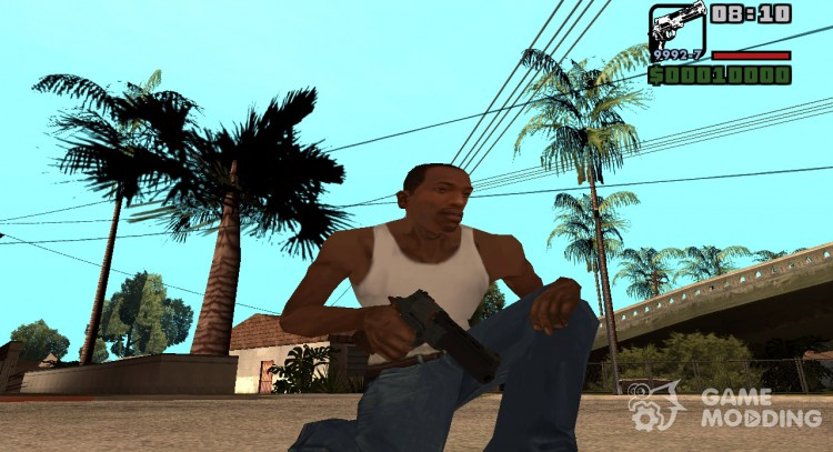 Mateba for GTA San Andreas