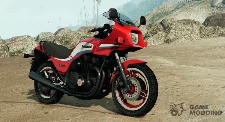Kawasaki GPZ1100 v1.11 for GTA 5