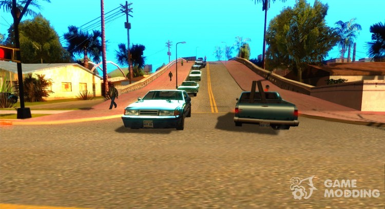 Traffic for GTA San Andreas for GTA San Andreas