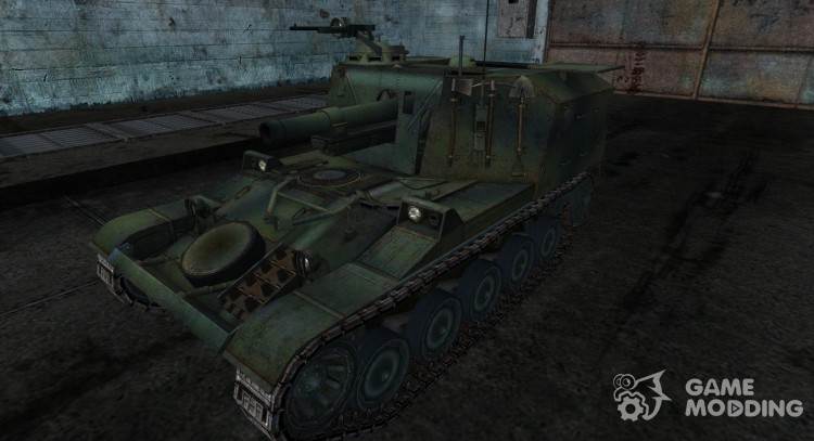 Skin for AMX 105AM for World Of Tanks