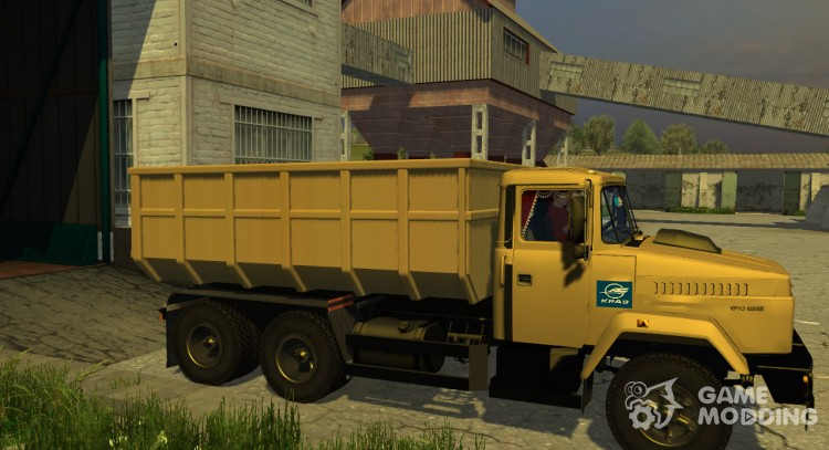 KrAZ-65055 v3.0 for Farming Simulator 2013