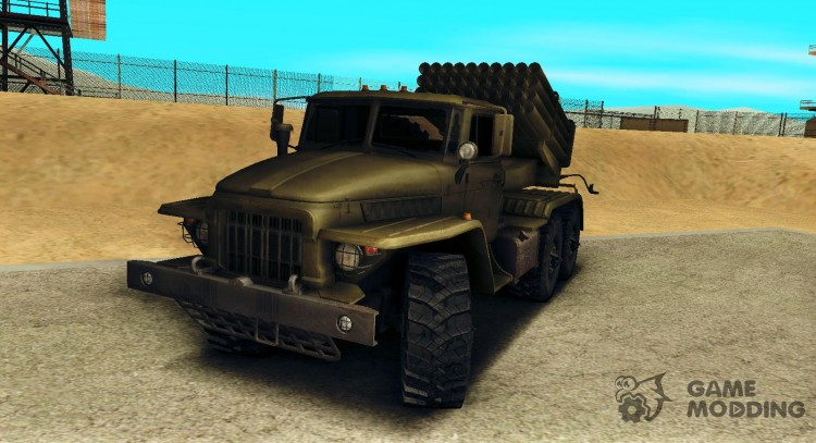 Ural 375 BM-21 for GTA San Andreas