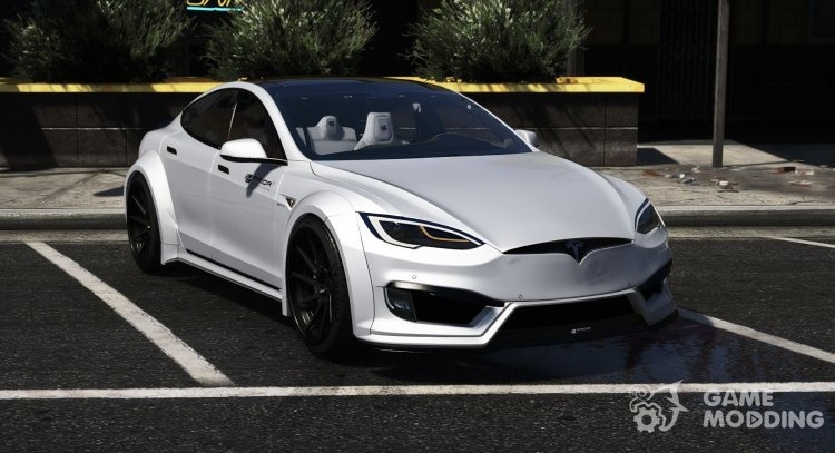 Tesla Model S Prior Design for GTA 5