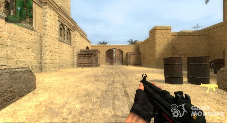 mp5 reskin for Counter-Strike Source