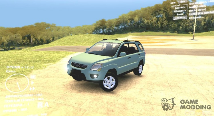 Kia Sportage TDI 2009 for Spintires DEMO 2013