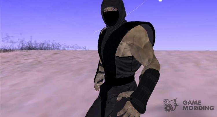 Noob Saibot Mortal Kombat for GTA San Andreas