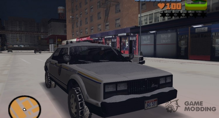 GTA 5 Esperanto Police (for winter fashion) for GTA 3