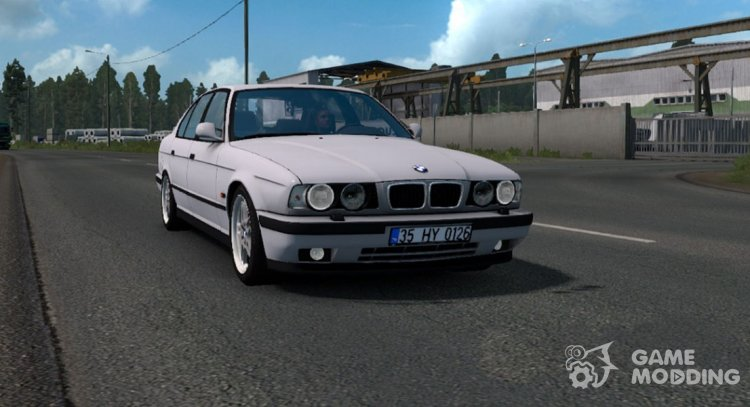 BMW 5-Series E34 for Euro Truck Simulator 2
