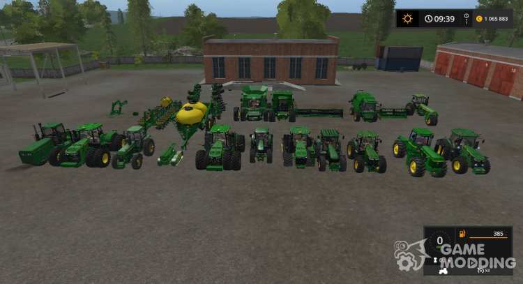 John Deere v PACK.1 for Farming Simulator 2017
