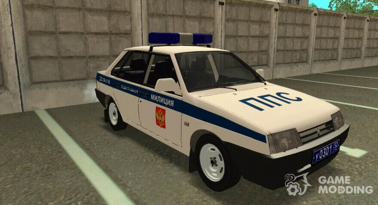 VAZ 21099 PPP for GTA San Andreas
