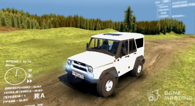 UAZ Hunter 2 for Spintires DEMO 2013